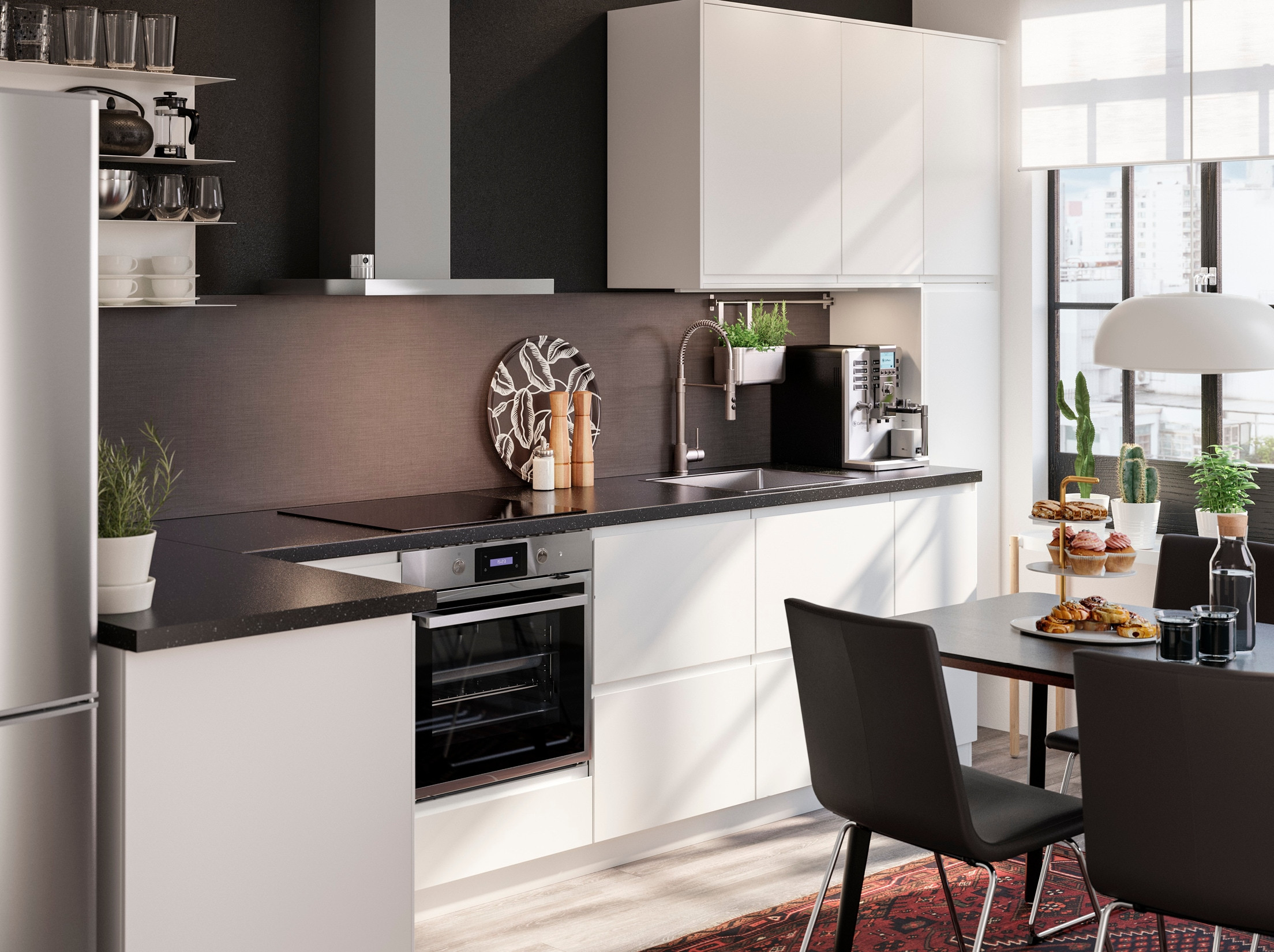 Modern Kitchen Cabinets Ikea  IKEA Kitchen Designs Gallery