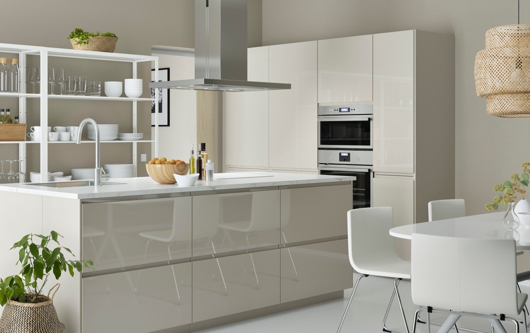 Modern Kitchen Cabinets Ikea  Modern and slick design bringing cooking and