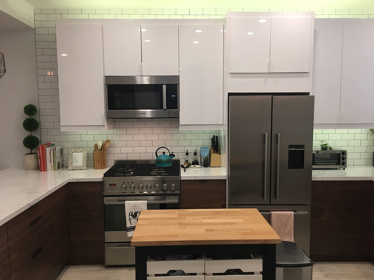 Modern Kitchen Cabinets Ikea  A Small IKEA Kitchen Let's Get Vertical Vertical