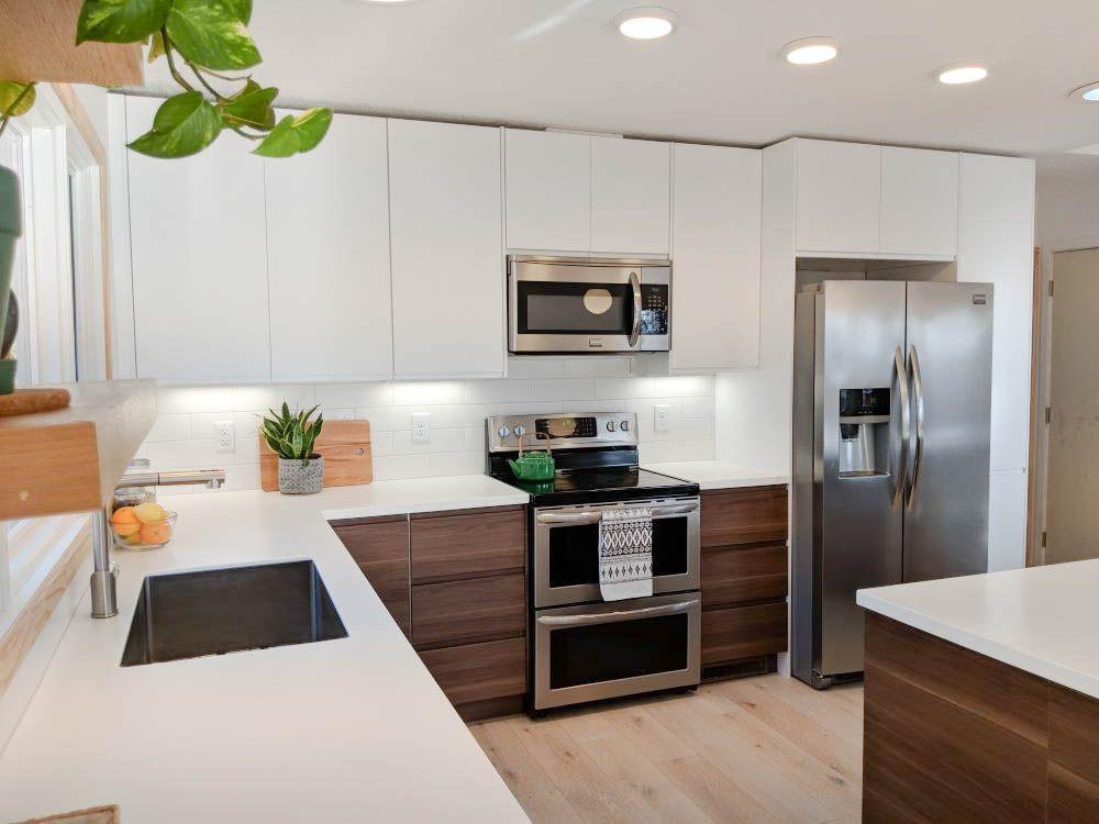 Modern Kitchen Cabinets Ikea  Ikea Voxtorp White