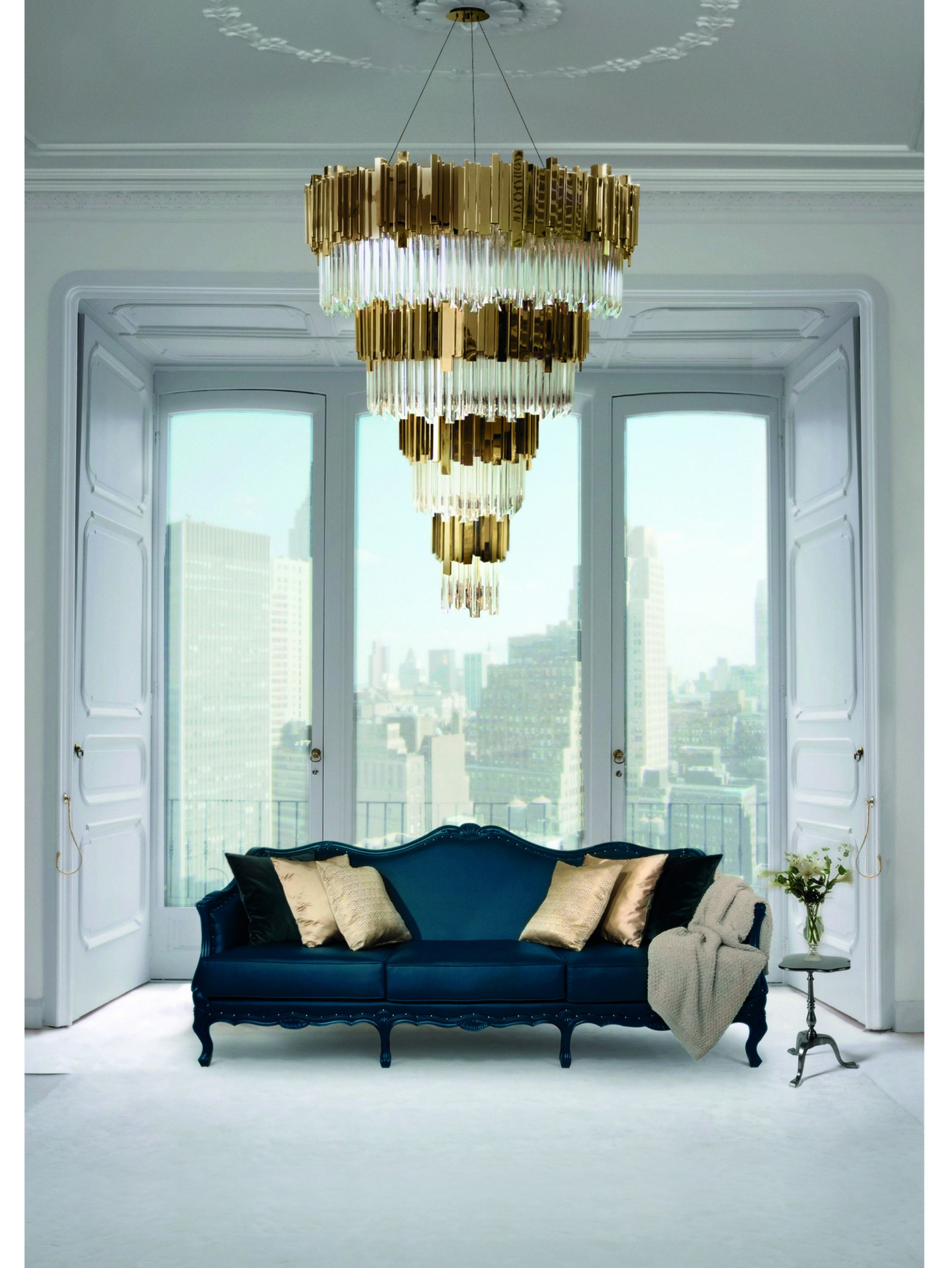 Modern Living Room Chandelier  luxury chandeliers for living room