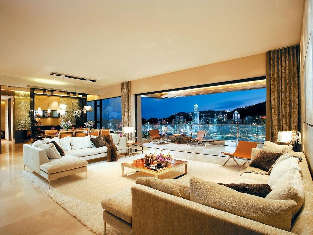 Modern Luxury Living Room  35 Luxurious Modern Living Room Design Ideas