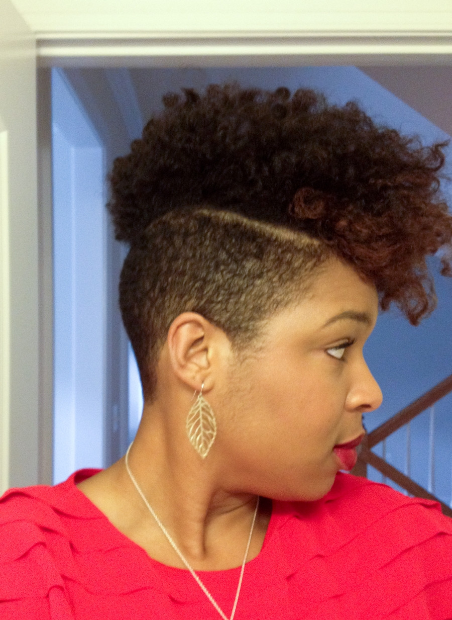 Mohawk Hairstyle For Natural Hair  Natural Hair My Mohawk This Week