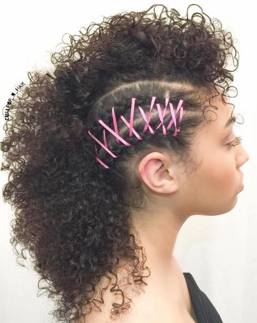 Mohawk Hairstyle For Natural Hair  Beat Mohawk Hairstyles for Natural Hair Women