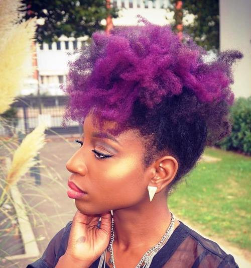 Mohawk Hairstyle For Natural Hair  Fun Fancy and Simple Natural Hair Mohawk Hairstyles