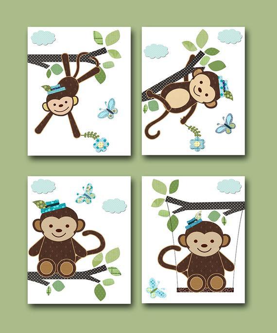 Monkey Baby Decor  301 Moved Permanently