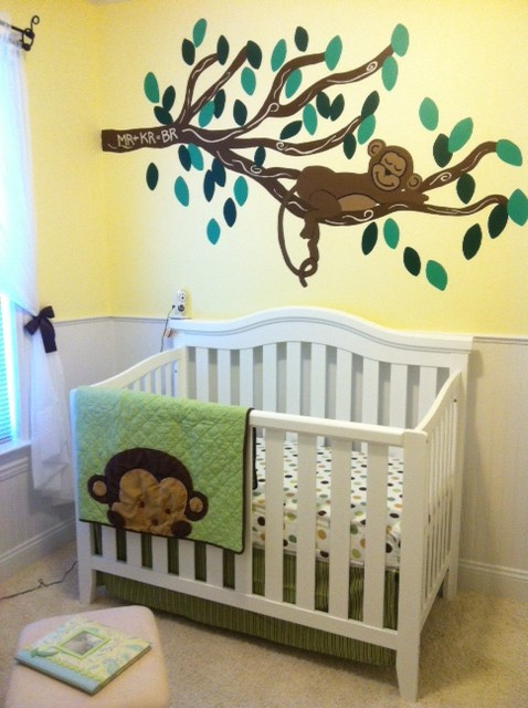 Monkey Baby Decor  Baby Ryan s Monkey Nursery Project Nursery