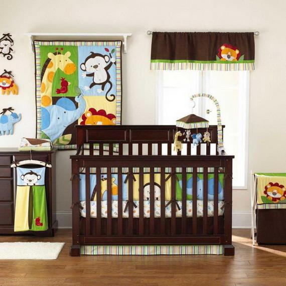 Monkey Baby Decor  Monkey Baby Crib Bedding Theme and Design Ideas family