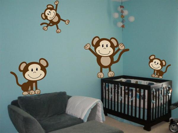Monkey Baby Decor  Monkey Baby Room Decor Home Decorating Ideas