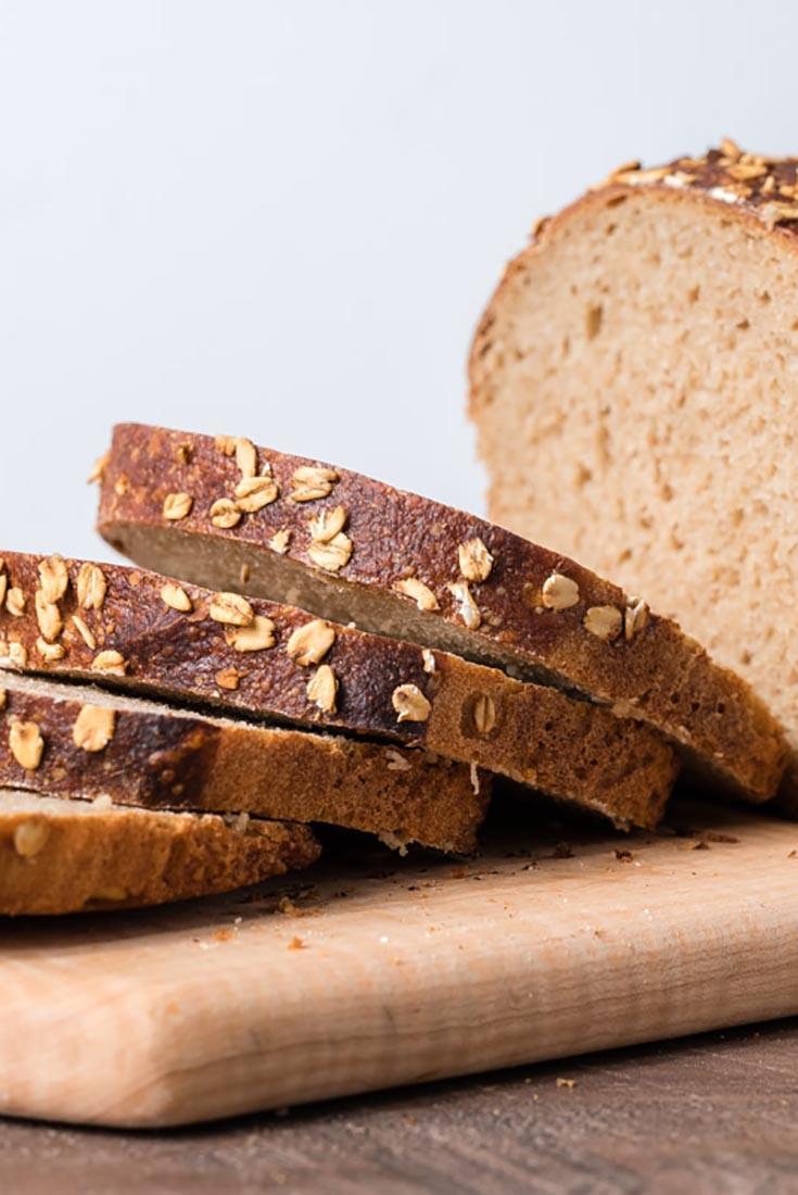 Multigrain Sourdough Bread  Multigrain Sourdough Sandwich Bread Recipe