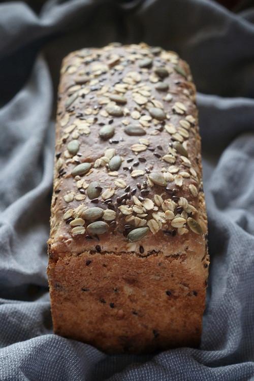 Multigrain Sourdough Bread  Multigrain Sourdough Sandwich Bread My Diverse Kitchen