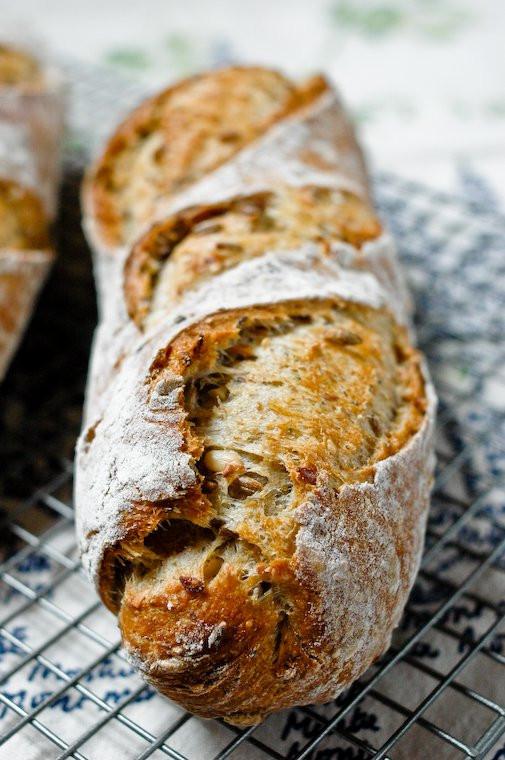 Multigrain Sourdough Bread  Multigrain Starter Bread Recipe