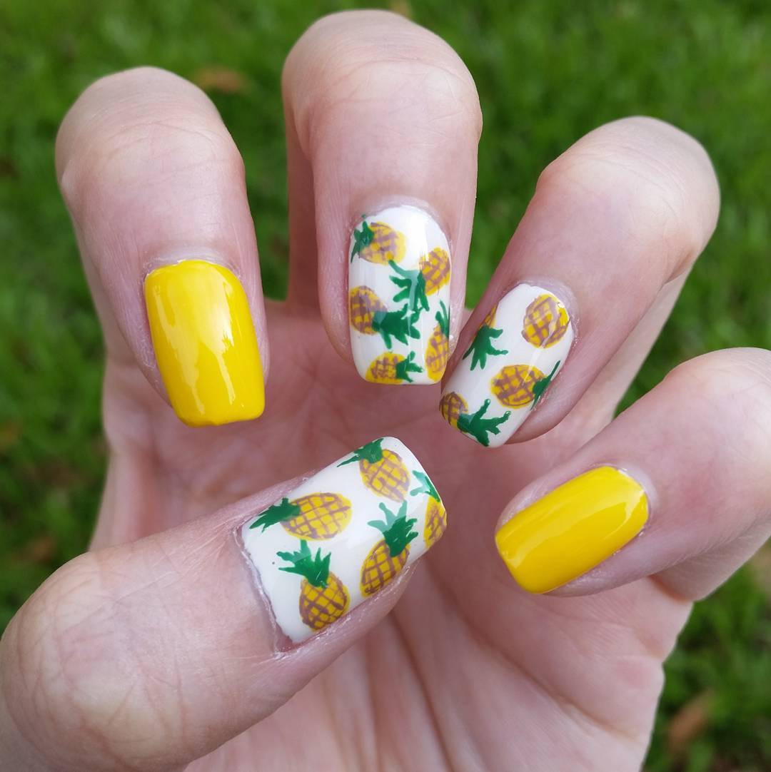 Nail Colors For Summer  27 White Color Summer Nail Designs Ideas