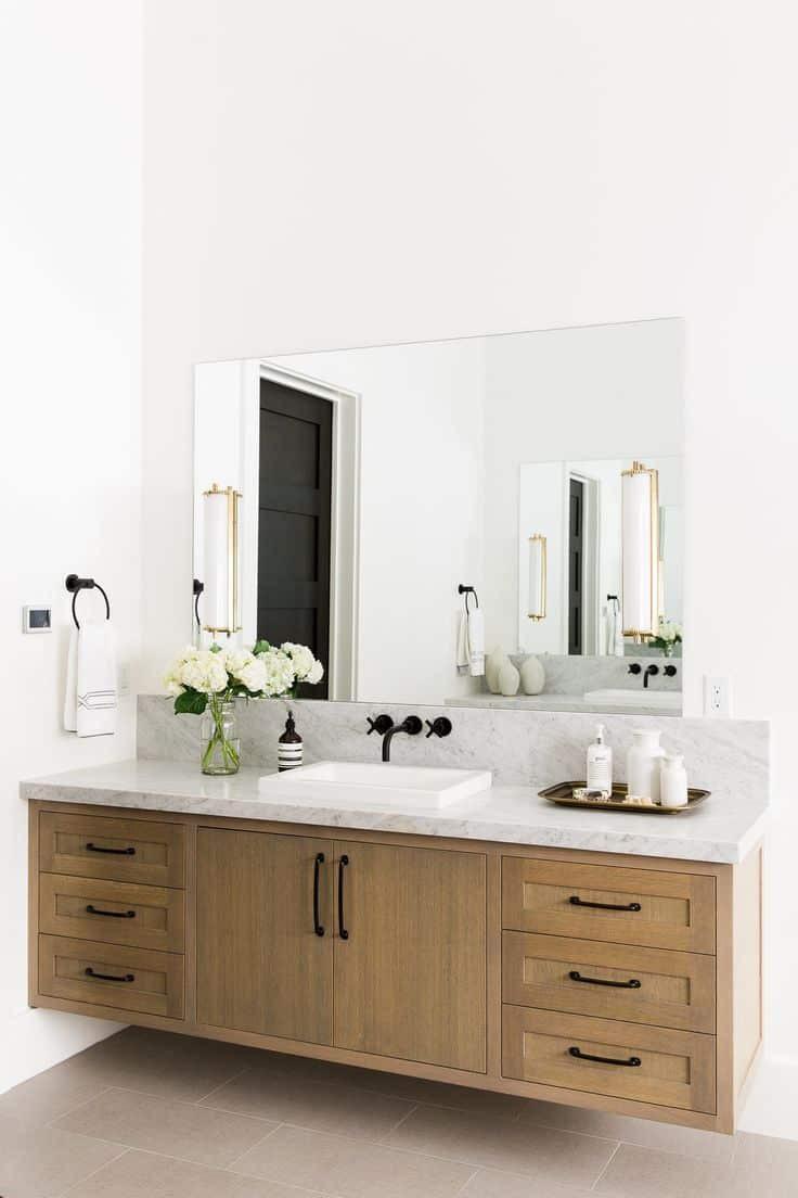 Natural Wood Bathroom Vanities  15 Modern Bathroom Vanities For Your Contemporary Home