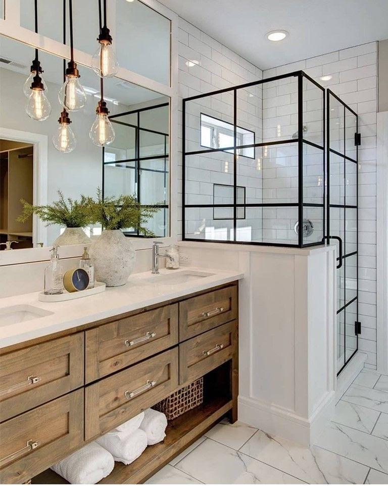 Natural Wood Bathroom Vanities  18 Unique Modern Bathroom Ideas