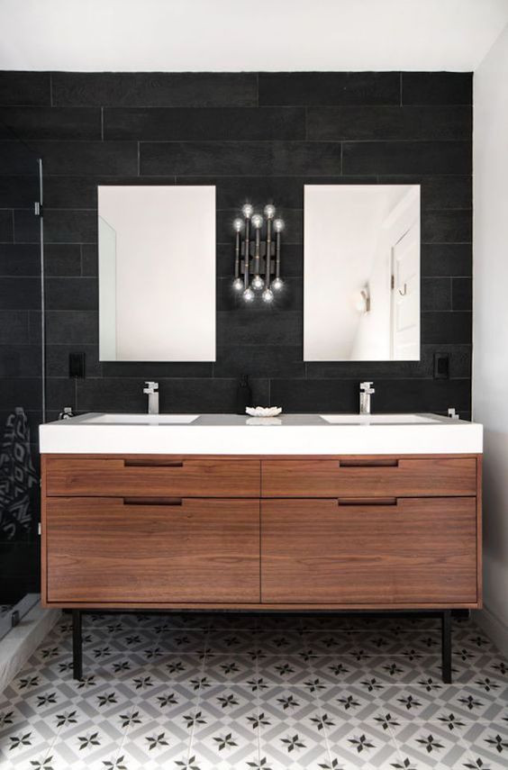 Natural Wood Bathroom Vanities  The 30 Best Modern Bathroom Vanities of 2020 Trade Winds