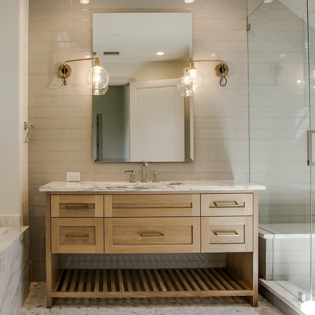 Natural Wood Bathroom Vanities  Pin on Bathrooms