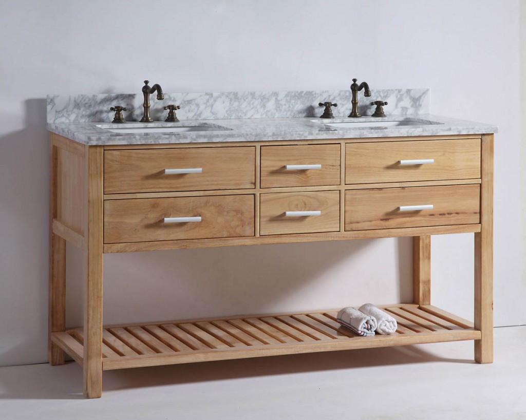 Natural Wood Bathroom Vanities  The Top 14 Bathroom Trends for 2016 Bathroom Ideas and