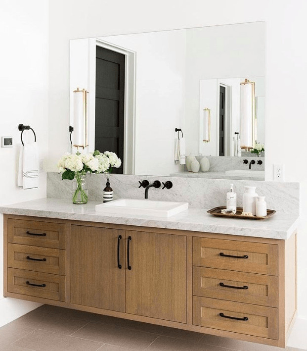 Natural Wood Bathroom Vanities  Eight TIMELESS Decorating TRENDS I m Loving Now Classic
