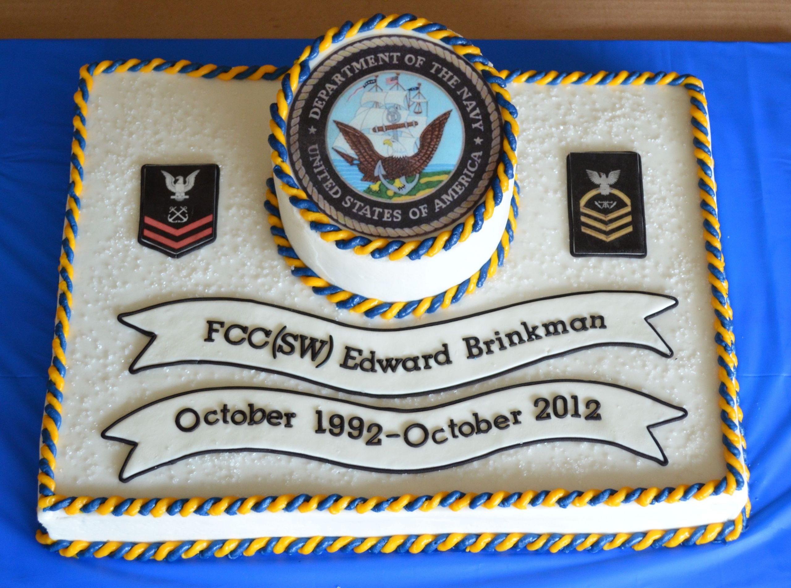 Navy Retirement Party Ideas  Custom Retirement Party Special Occasion Cakes