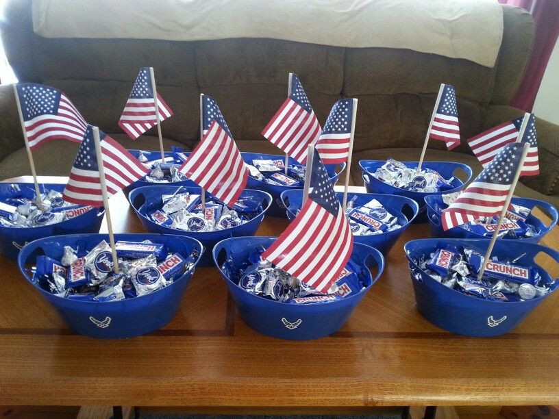 Navy Retirement Party Ideas  Airforce party centerpieces