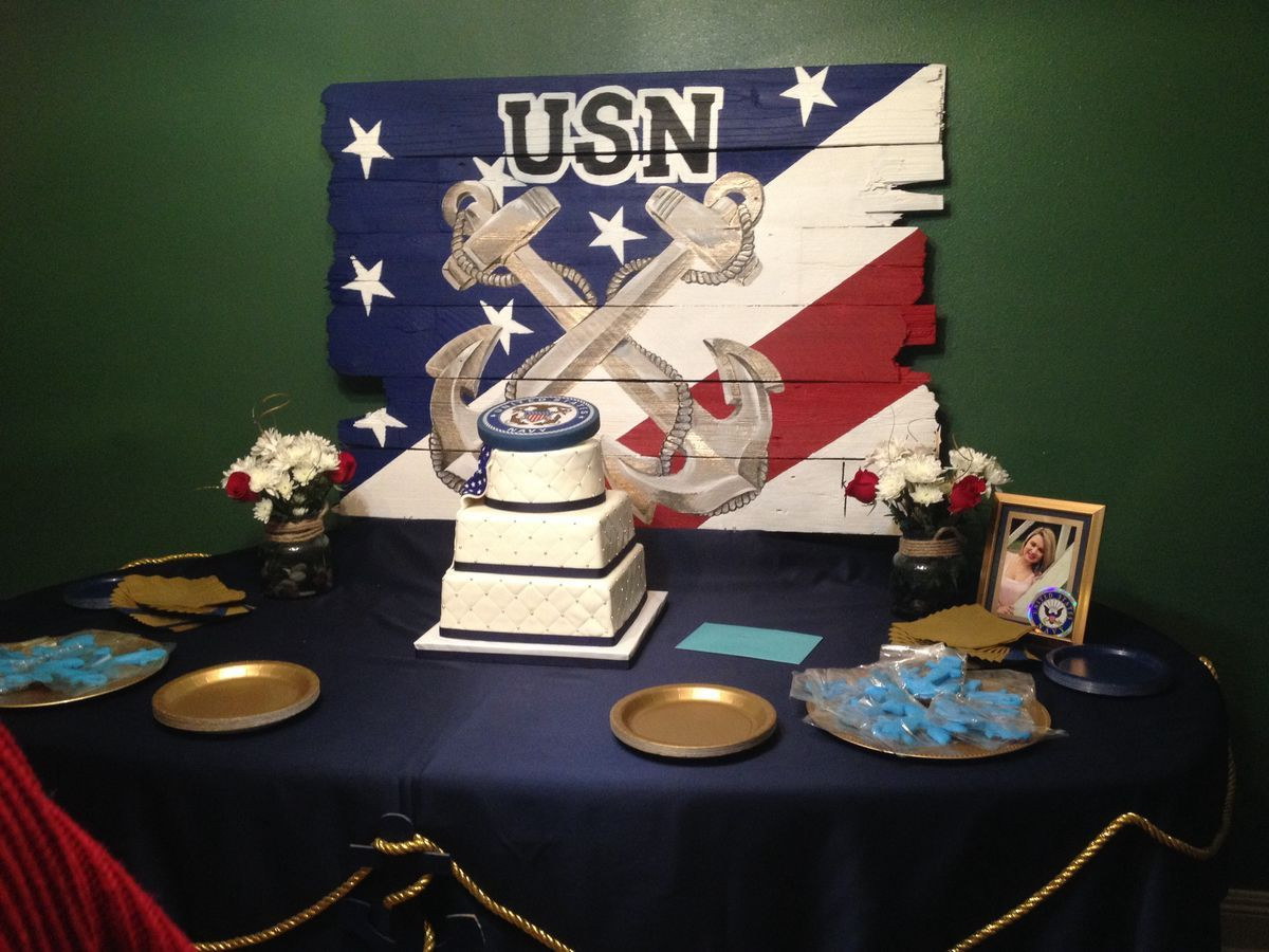 Navy Retirement Party Ideas  Pin by Eduardo Quinones on Chief