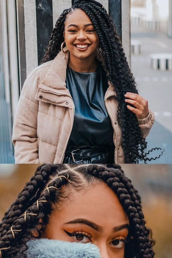 New Braids Hairstyle  49 Latest Afro Crochet Braids Hairstyles To Copy In 2020