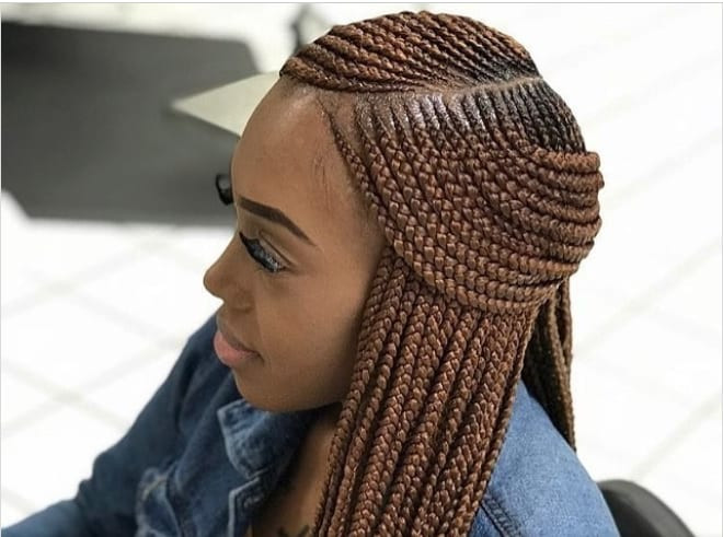 New Braids Hairstyle  2020 best Nigerian braids hairstyles with pictures that