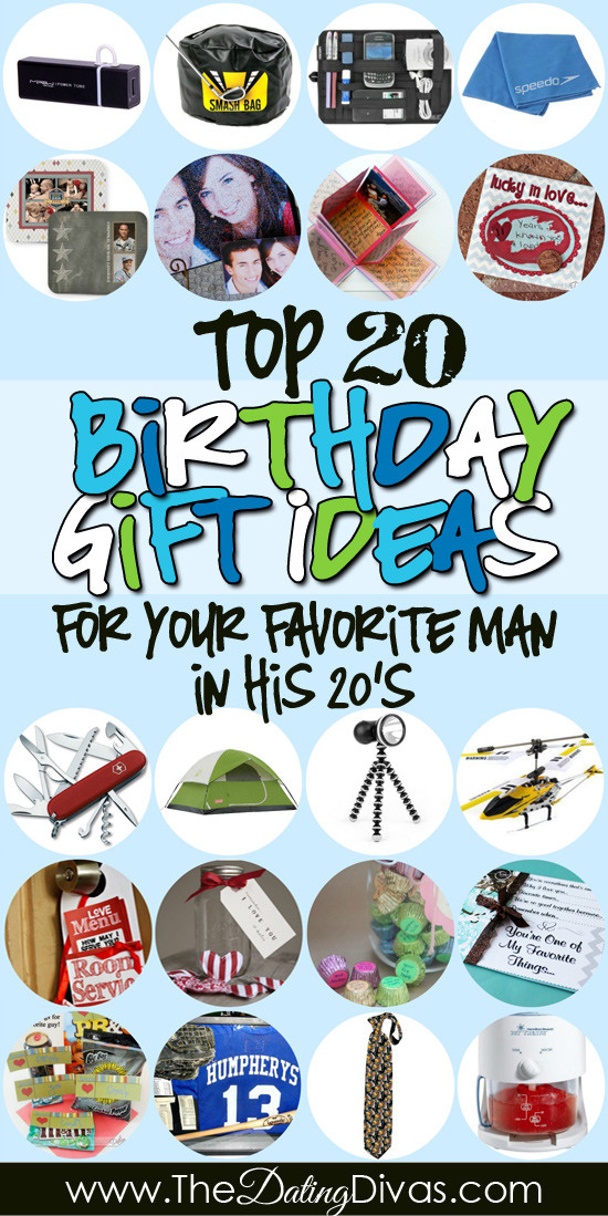 New Relationship Birthday Gift Ideas For Him  Birthday Gifts for Him in His 20s The Dating Divas