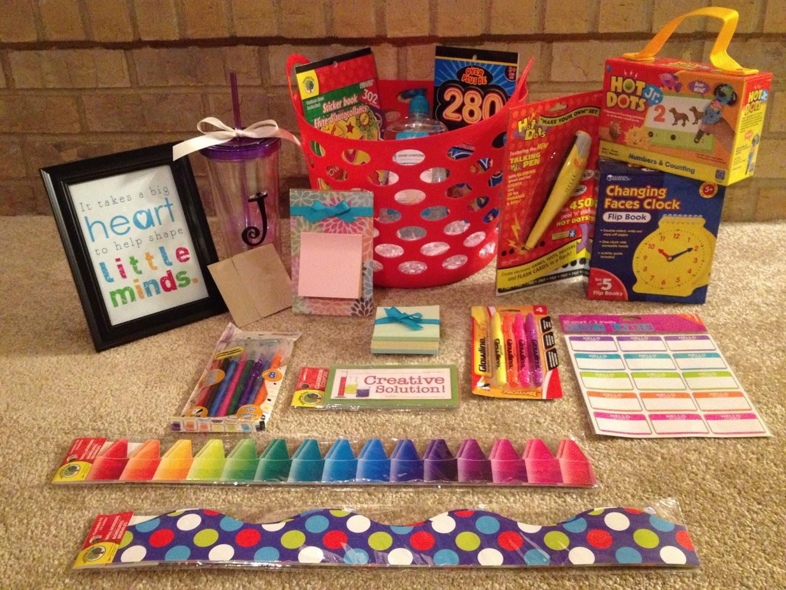 New Teacher Gift Basket Ideas  Sugar & Spice DIY Teacher Gift Basket