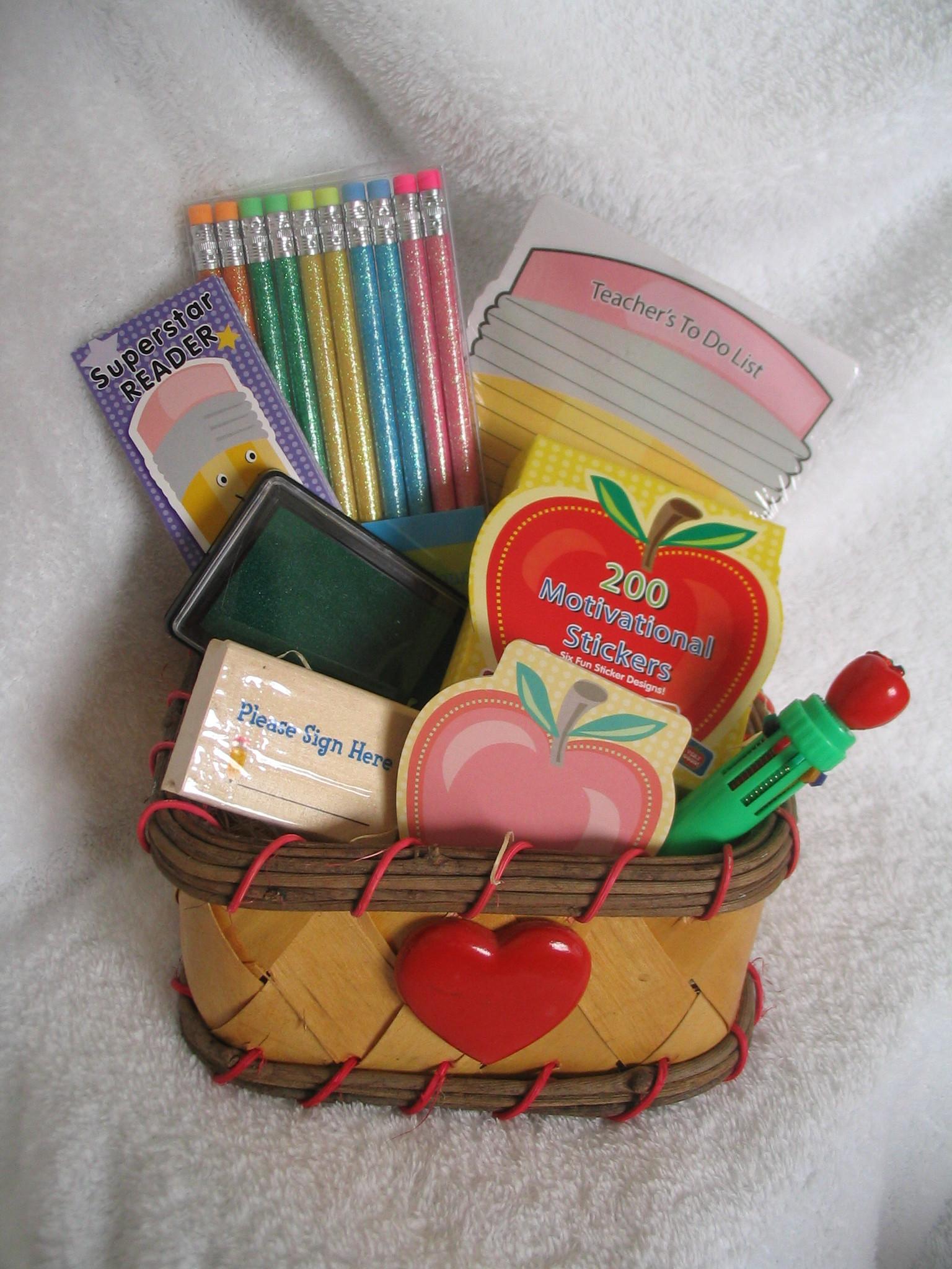 New Teacher Gift Basket Ideas  The Basket Case