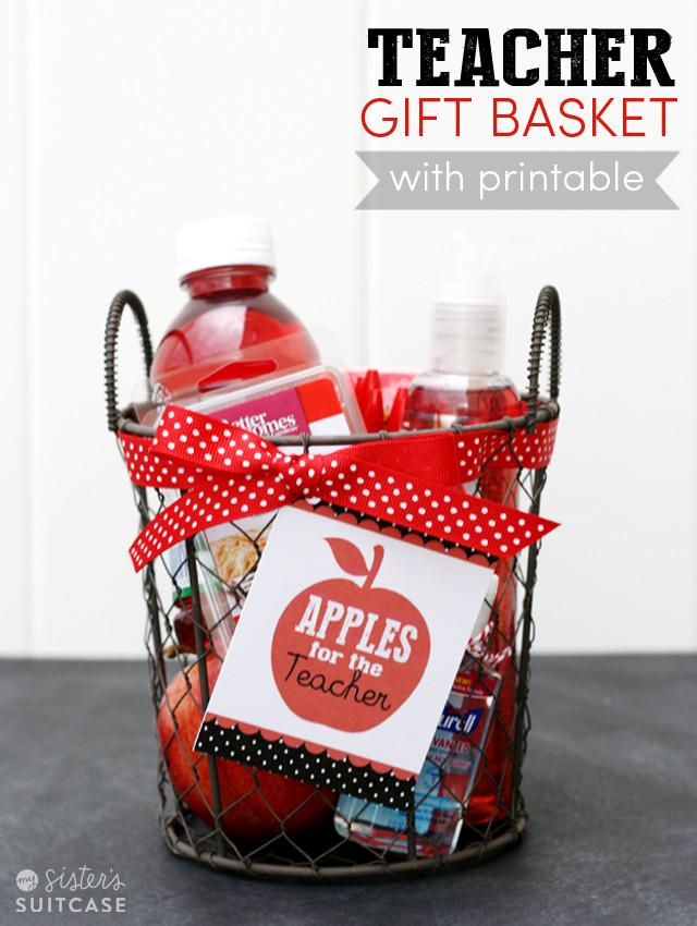 New Teacher Gift Basket Ideas  20 Back 2 School Teacher Gifts