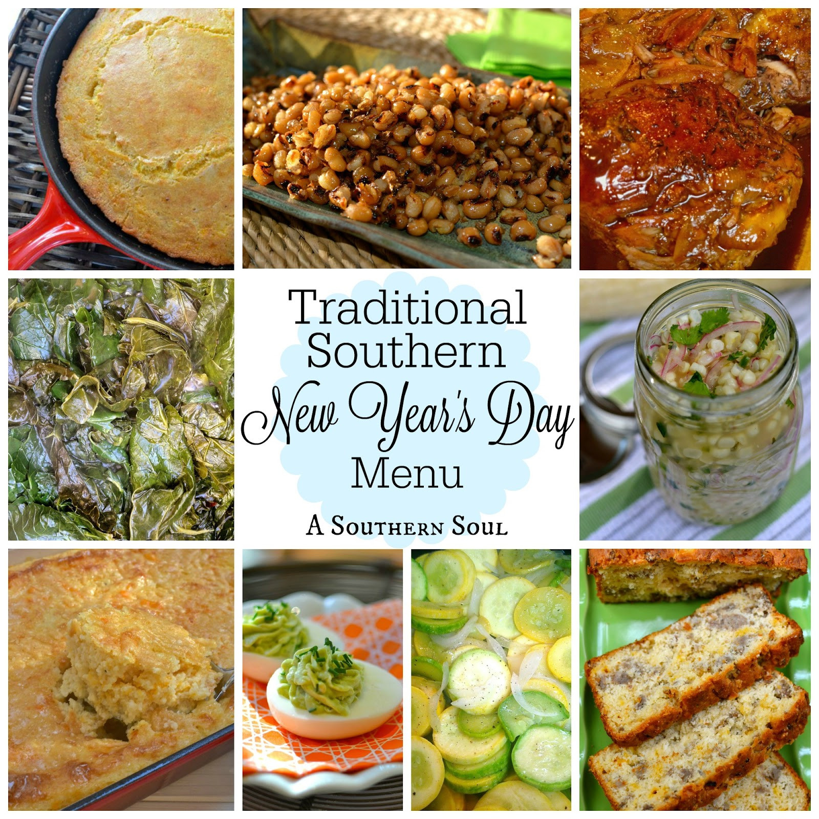 New Year Day Dessert Traditions  Traditional Southern New Year's Day Menu