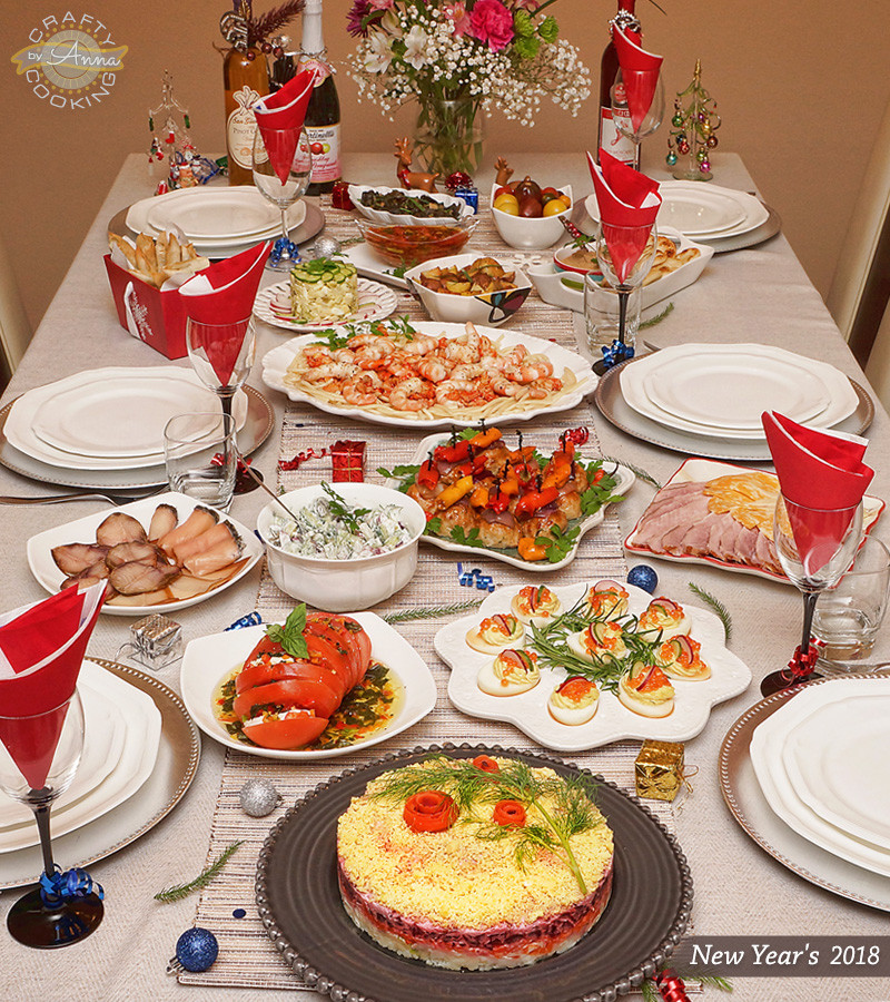 New Year Dinner  New Year s Dinner 2018 Delicious ideas for the Holidays