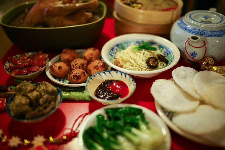 New Year Dinner  Chinese New Year Food – Chinese New Year 2018