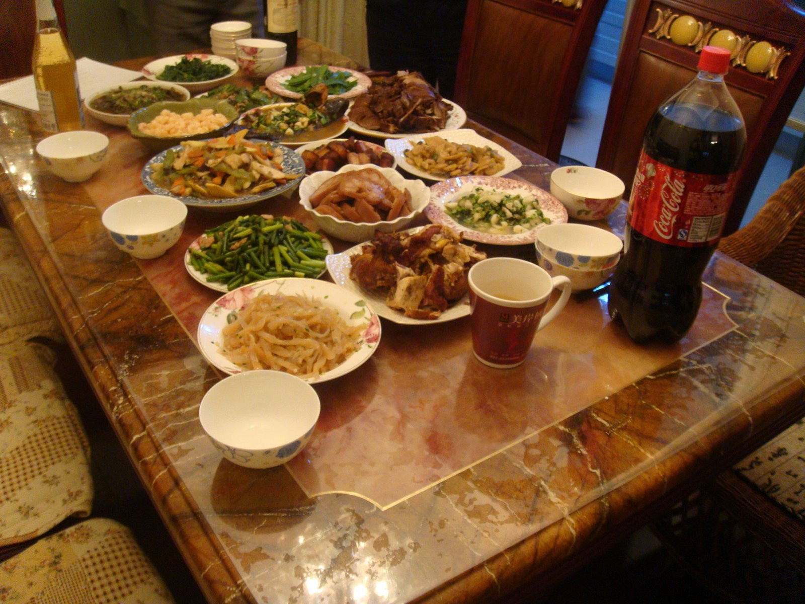 New Year Dinner  my first video post chinese new year dinner