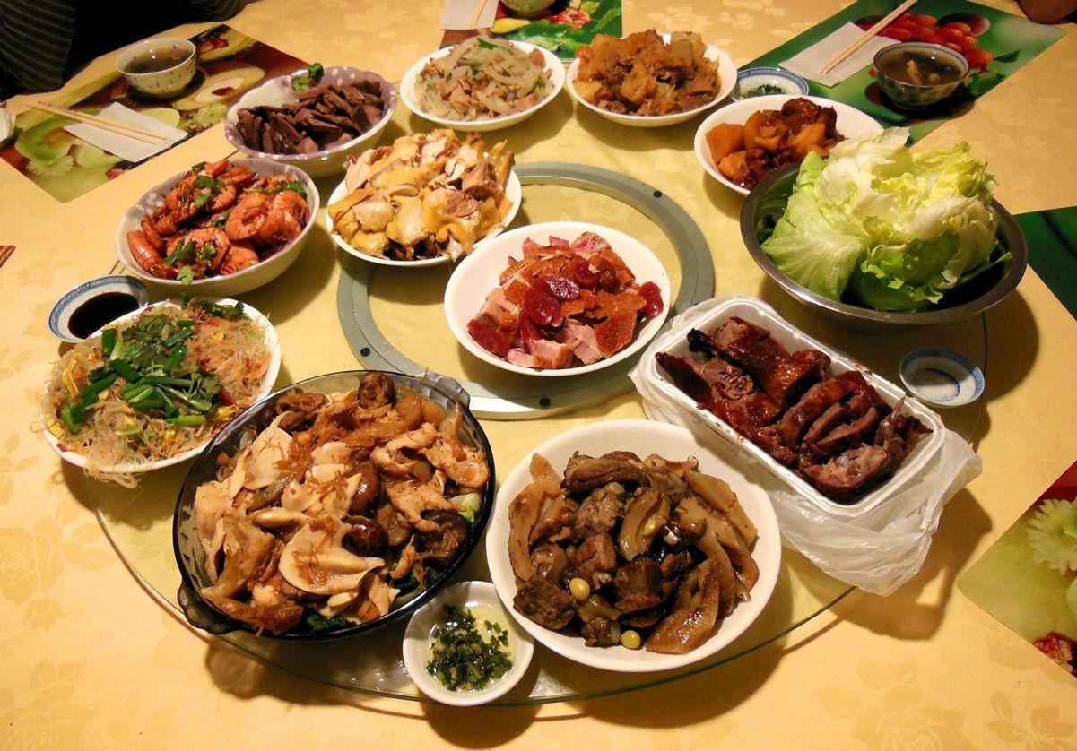 New Year Dinner  Lunar New Year Dinner