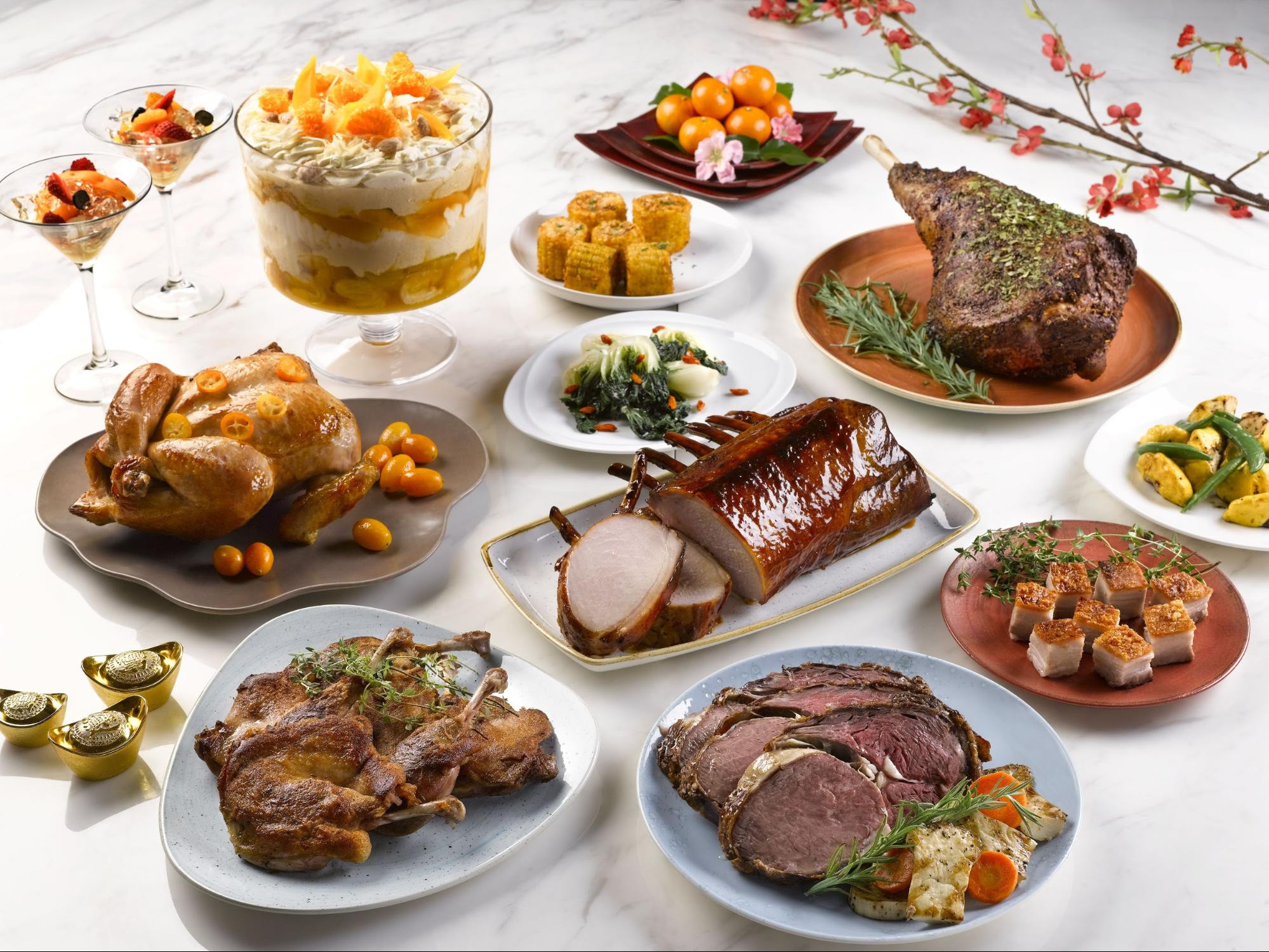 New Year Dinner  9 reunion dinner spots to start Chinese New Year 2018 on