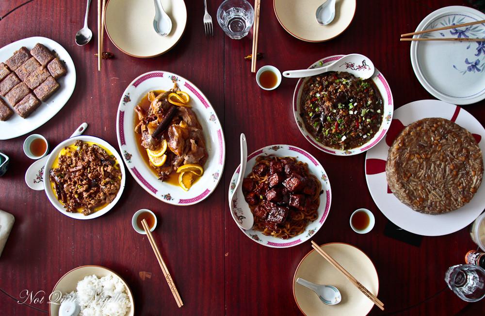 New Year Dinner  Chinese New Year Dinner Not Quite Nigella