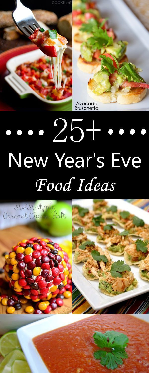 New Year'S Eve Desserts Party Ideas  25 New Year s Eve Finger Foods