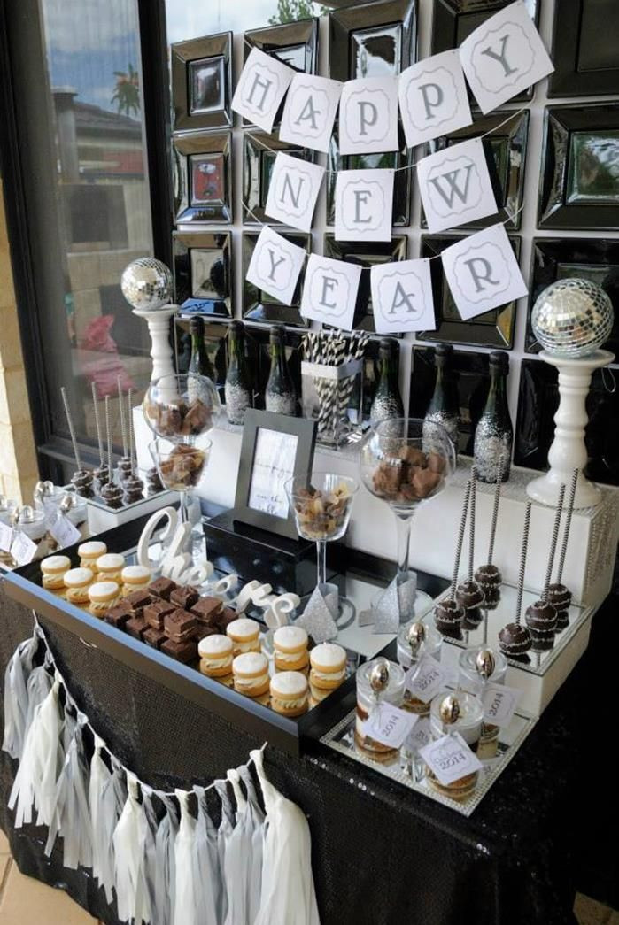 New Year'S Eve Desserts Party Ideas  New Year s Eve Dessert Bar Party Ideas Supplies
