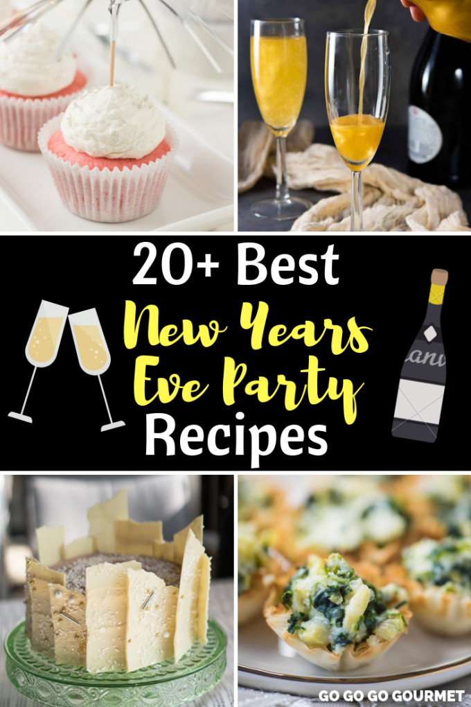 New Year'S Eve Desserts Party Ideas  New Years Eve Party Food Ideas Best NYE Party Food Recipes
