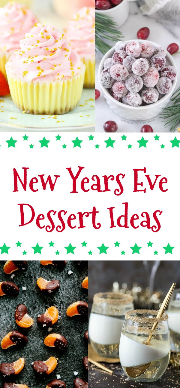 New Year'S Eve Desserts Party Ideas  New Years Eve Dessert Ideas