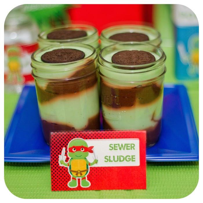 Ninja Turtles Birthday Party Food Ideas  Kara s Party Ideas Teenage Mutant Ninja Turtle Birthday
