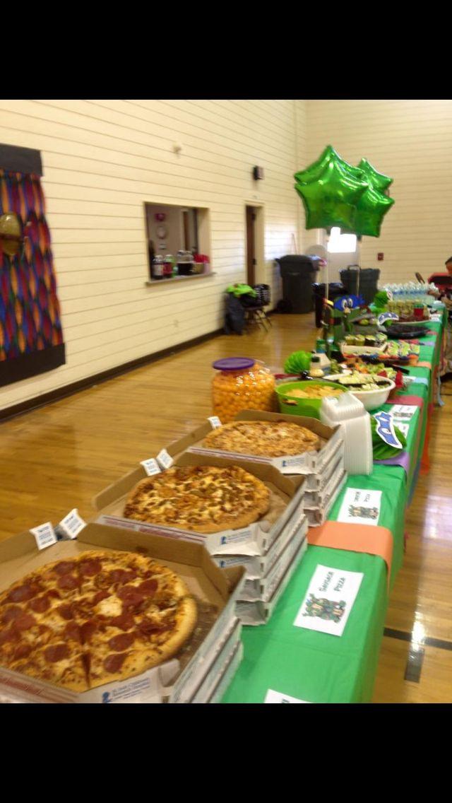 Ninja Turtles Birthday Party Food Ideas  Ninja Turtle Birthday Party decorations food and games