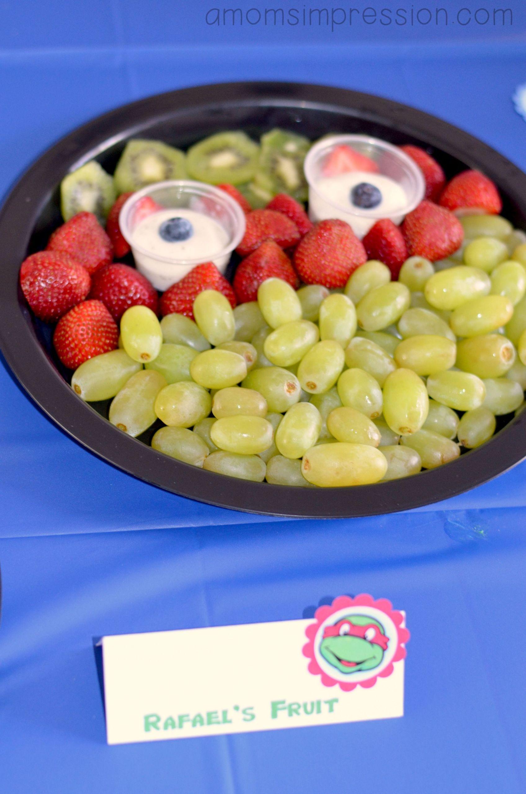 Ninja Turtles Birthday Party Food Ideas  Teenage Mutant Ninja Turtles Birthday Party food ideas