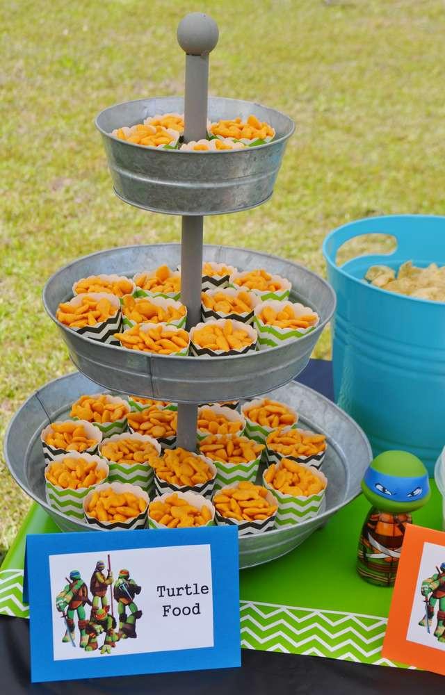 Ninja Turtles Birthday Party Food Ideas  Teenage Mutant Ninja Turtles Birthday Party Ideas
