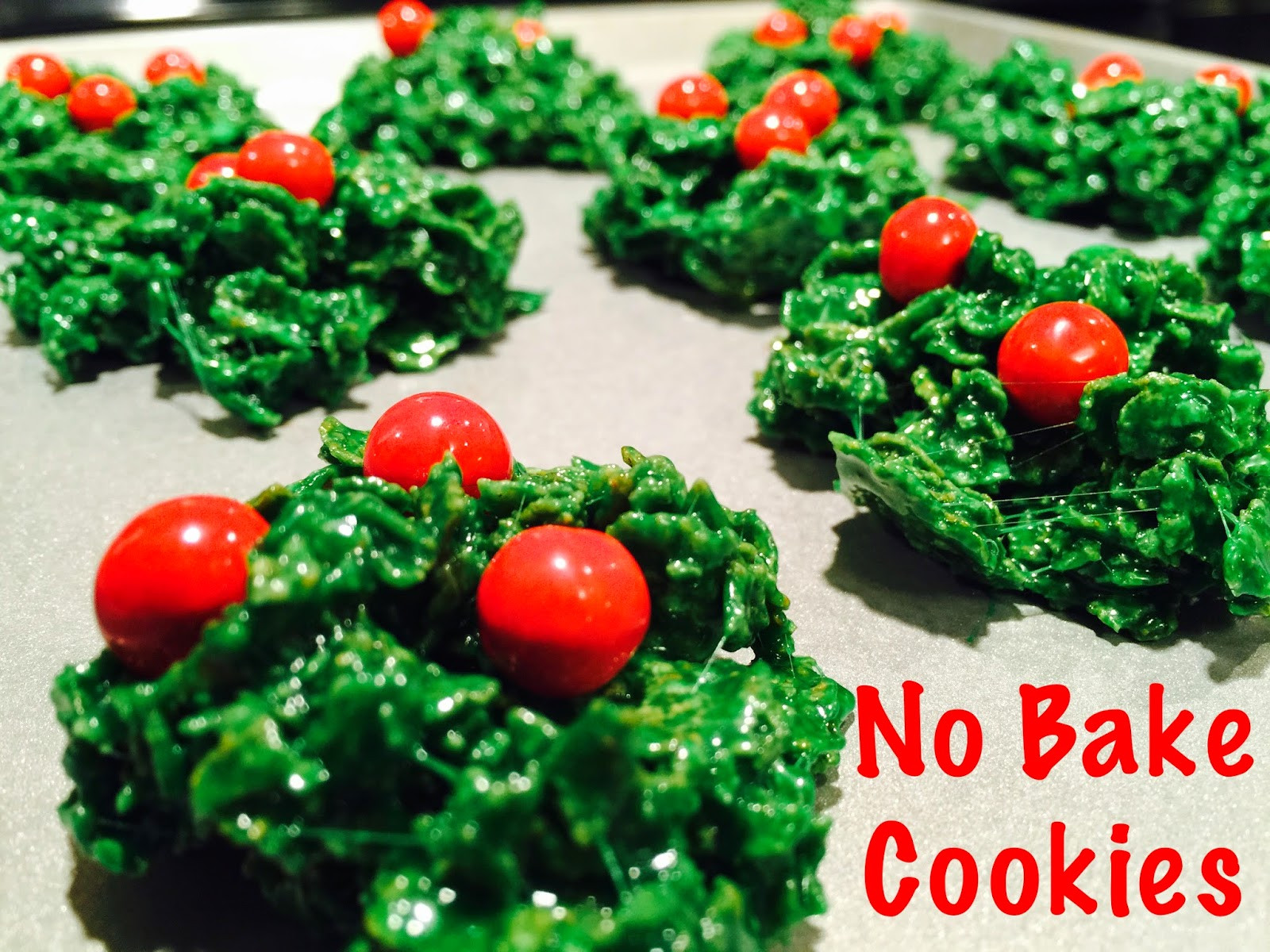 No Bake Holiday Cookies  Everything Kelly Jean No Bake Holiday Cookies