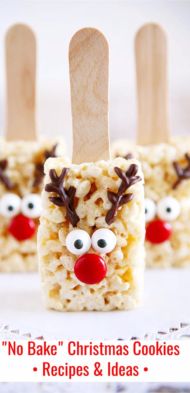 No Bake Holiday Cookies  No Bake Christmas Cookies and Bars Easy Freezer Friendly