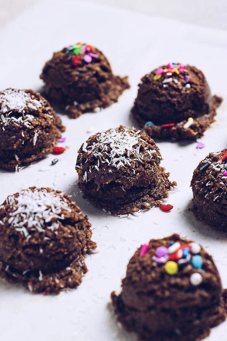 No Bake Holiday Cookies  Paleo No Bake Christmas Cookies Gluten free Easy